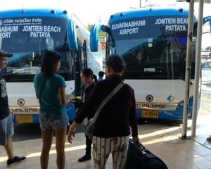 パタヤからスワンナプーム空港行きのエアポートバスは120バーツだった【2019年2月】
