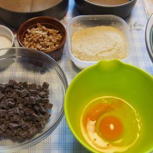 小麦粉なしの「トルタカプレーゼ」