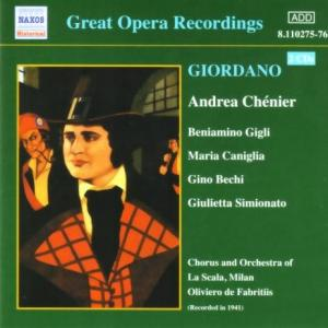 ジョルダーノ:歌劇《アンドレア・シェニエ》2