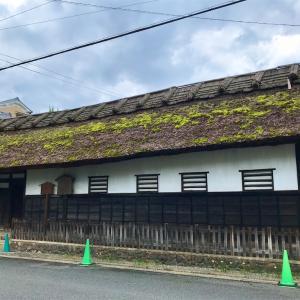 京都の町中にこんな立派な長屋門のあるお宅がありました。