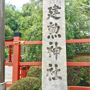 夏越の祓い 建勲神社の茅の輪くぐり