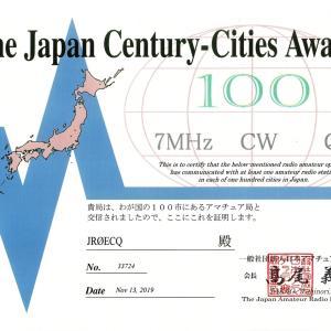 「7MHz CW QRP」特記のJARL三賞と我がQRP機たち