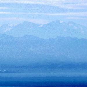 弥彦山からの北アルプスの眺め、そしてJA9コンテストとオール九州コンテスト
