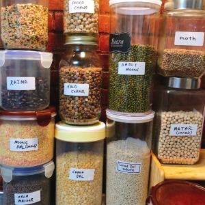 【日印ファミリーの台所】インド料理でよく使う豆一覧!☺︎の巻
