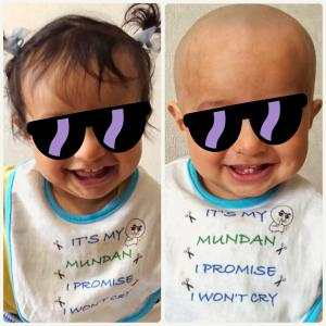【1歳前後】つるつる丸坊主!Mundan(ムンダン)レポの巻