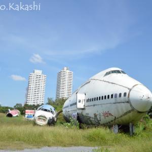 飛行機の墓場は都市にいきなり存在する Airplane Graveyard @ ラムカムヘン