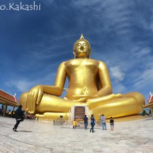 タイ最大坐像がデカすぎでは?の件 ワット・ムアン @ アーントーン