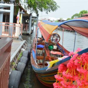 水上マーケットと呼んでいいのか・・ Khlong Bang Luang Floating Market