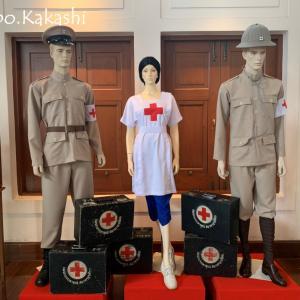 赤十字の活動を広く世間に タイ赤十字博物館 @ サムヤーン