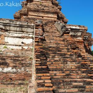 放棄された廃墟寺院シリーズ30 ワット・ウボソット @ 中央アユタヤ