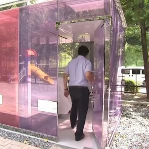 日本でも話題になったあのトイレがアメリカのニュースで紹介される