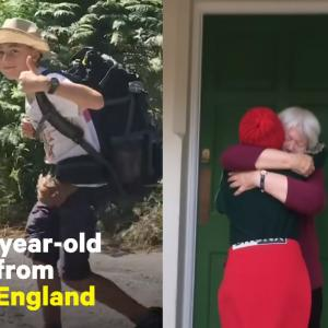 祖母をたずねて3000キロ、イタリアからイギリスまで徒歩で旅した少年