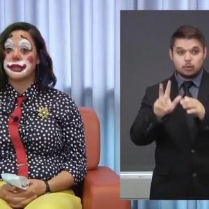 ピエロの仮装で新型コロナウィルスの感染状況をアナウンスする様子が賛否両論を巻き起こす!(アメリカ)