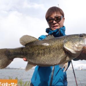 苦戦琵琶湖