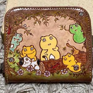 かえるちゃんのお財布。