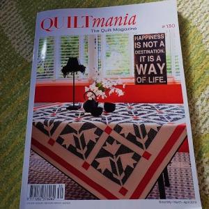 Quilt Mania ♯130 にも紹介して頂きました