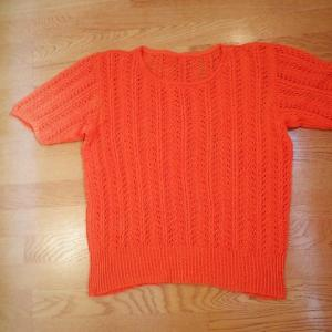 元気が出そうなオレンジ色・・・