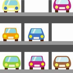 マンションの駐車場トラブル:ドアミラーの畳み忘れ