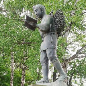 二宮尊徳の像