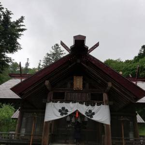 新得神社に行ってきました。