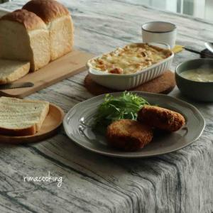 冬に美味しい✨ホワイトソースレッスンと紫芋のバター焼き