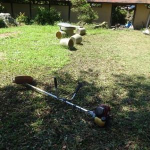 草刈り作業をやっていましたが・・・・