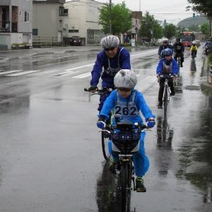 雨天決行だよオホーツクサイクリング2019