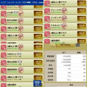 7/13 今日の俺プロ結果!