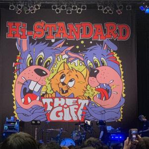 Hi-STANDARD「The Gift Extra Tour 2018」2018年12月17日(月) Zepp Osaka Bayside  レポート