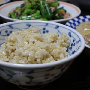 おウチで簡単玄米ご飯