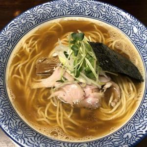 長岡市【らぁ麺や 一晃亭】移転後初訪問「追い煮干し中華」と「限定らーめん」いただきました
