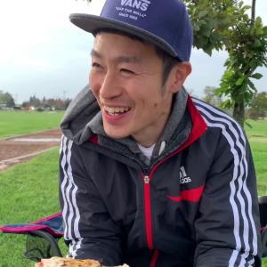 道の駅新篠津で、温泉入って車中泊してたくさん食べてお腹壊して自転車乗ったりした動画【はっしー編集】