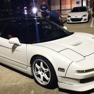 CRAZY HONDA NSX SHUTS DOWN CAR MEET!!