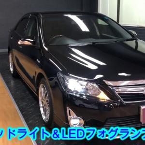 H25年 トヨタ カムリHV Gパッケージ プレミアムブラック 特別仕様車