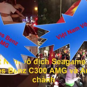 Bão cùng Mercedes Benz C300 AMG và Audi TT mừng Việt Nam vô địch Seagame 30