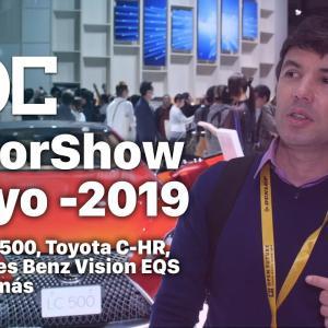 MotorShow Tokyo 2019: Lexus LC-500, Toyota C-HR, Merceddes Benz Vision EQS y mucho más