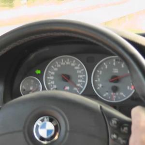 BMW E39 M5 200-300km/u acceleration in 6th gear