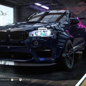 BMW X6 M 2016  CUSTOMISATION AND SOUND  Need For Speed Heat