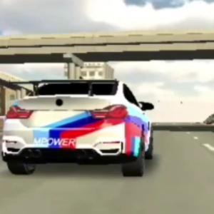BMW M4.Car Parking Multiplayer