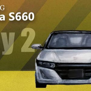 Car Drawing Honda S660 | Day 2 Front View