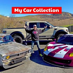 Tour of My Very Unique Car Collection and Garage!