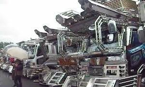 【デコトラ】令和元年 エンドラスト 第17回チャリティー撮影会in飯塚オートレース場 YouTubeトラックシーンVol,165