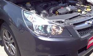 スバル レガシィ ツーリングワゴン 2 5i Bスポーツ エンジン音A041
