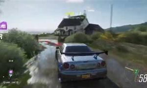 NISSAN GT-R R34 PAUL WALKER SKIN - FORZA HORIZON 4