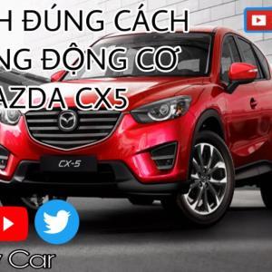 Vệ Sinh Khoang Động Cơ Mazda CX5