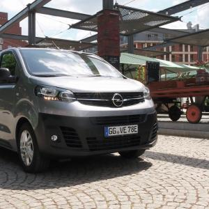 The new Opel Vivaro-e Van Loading capacity