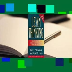 Downlaod Lean Thinking: Banish Waste and Create Wealth in Your Corporation E-book full