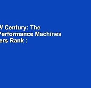 The BMW Century: The Ultimate Performance Machines  Best Sellers Rank : #3