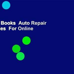 About For Books  Auto Repair for Dummies  For Online