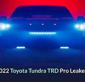 2022 Toyota Tundra TRD Pro Release Date